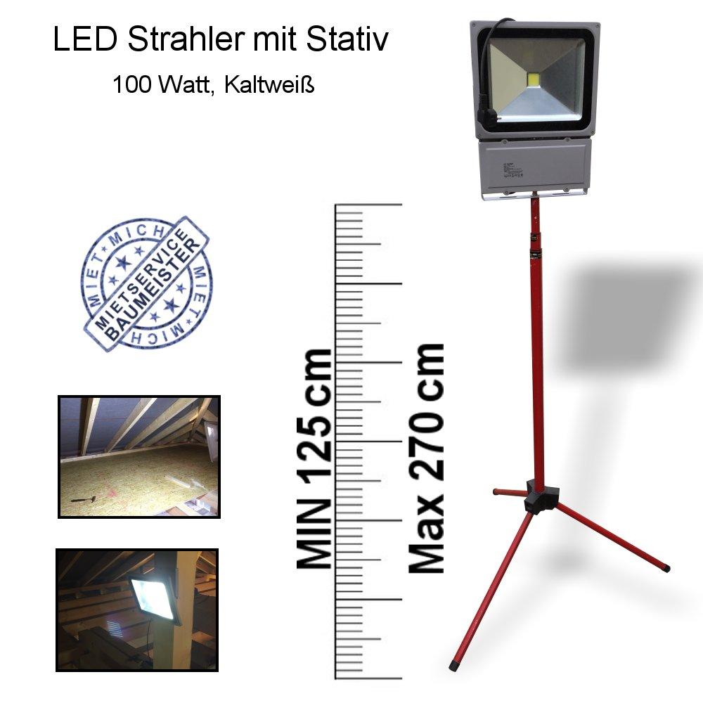 Baustrahler, Baulampe, LED