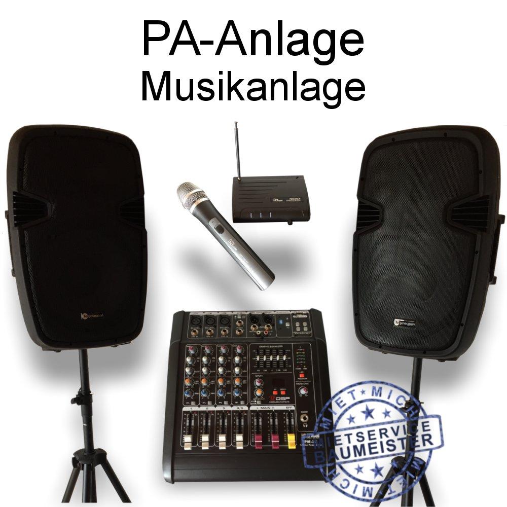 PA-Anlage DJ Musikanlage