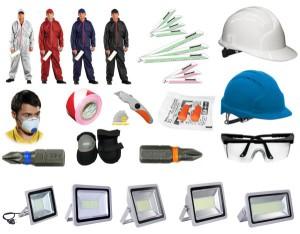 Zubehör LED Strahler Schutzausrüstung PSA Säge