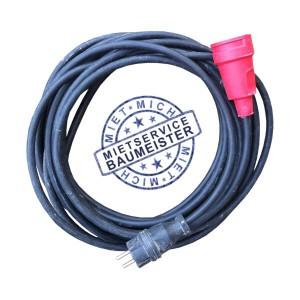 10 Meter Verlängerung Kabel 3 x 2,5 mm