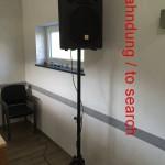 Musikanlage PA-Anlage gestohlen - bis zu 300€ Belohnung