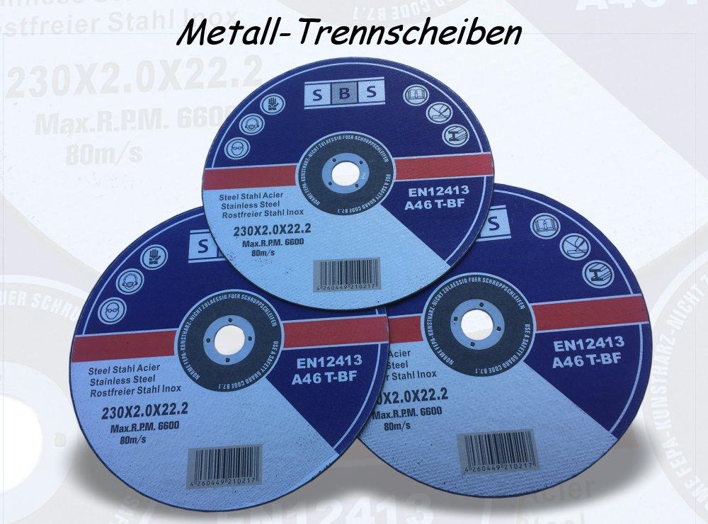 Trennscheiben Metall Stahl 230