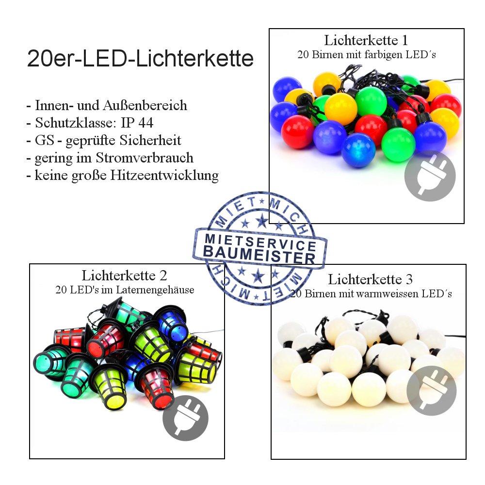 Partylampem Lichterkette