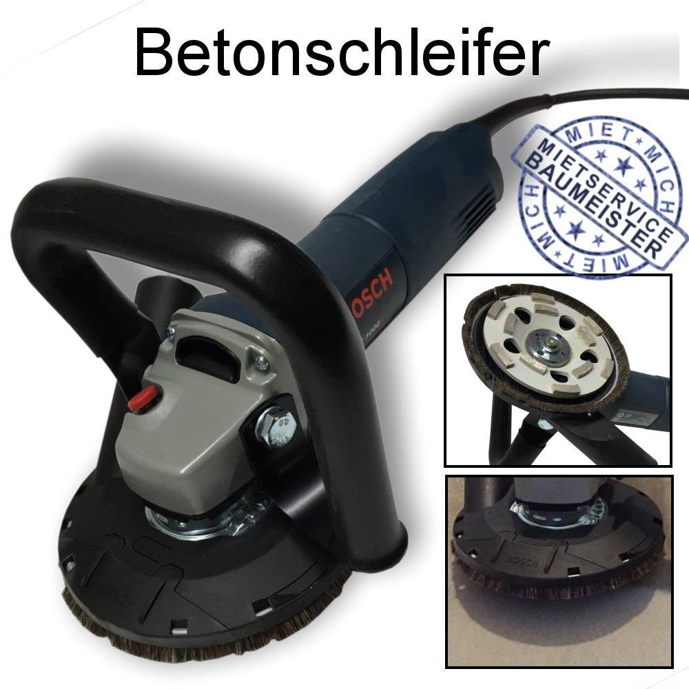 Betonschleifer, Topfscheibe