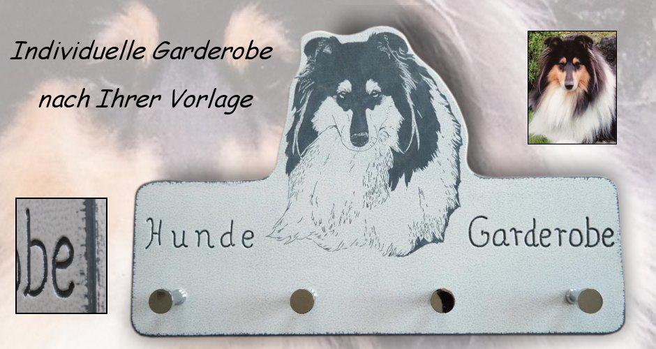 Garderobe Handarbeit Collie