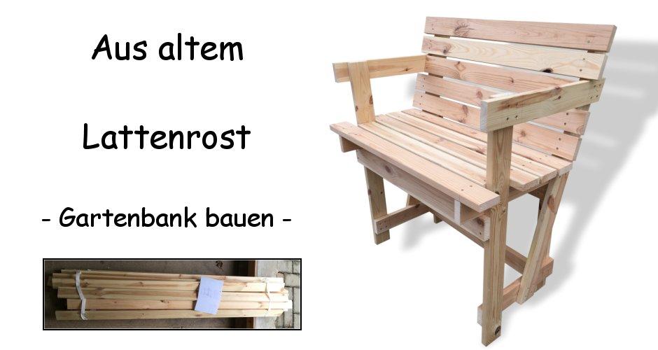 Gartenbank Holzbank Lattenrost