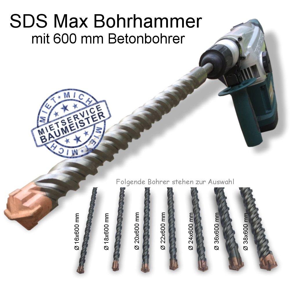 Bohrhammer Betonbohrer Steinbohrer Durchbruchbohrer