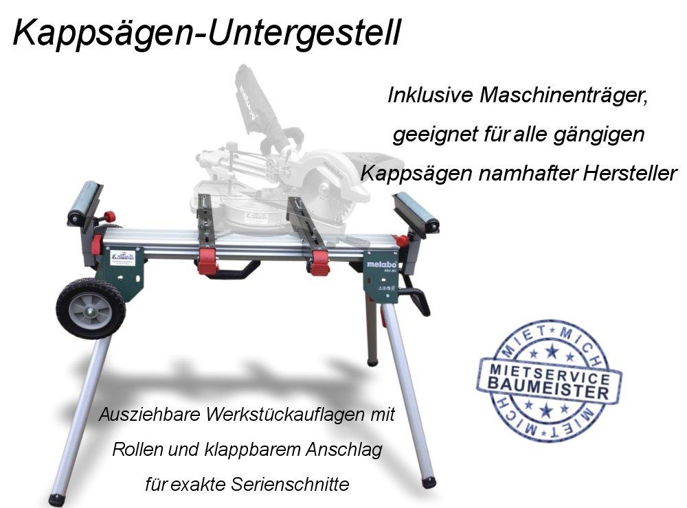 Maschinenständer für Kappsäge Gehrungssäge