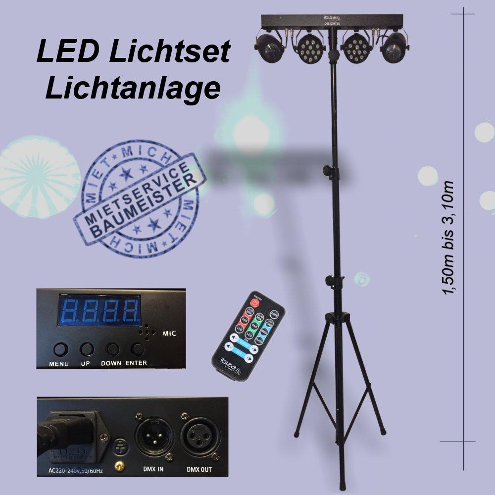 LED Lichtanlage Lichtset