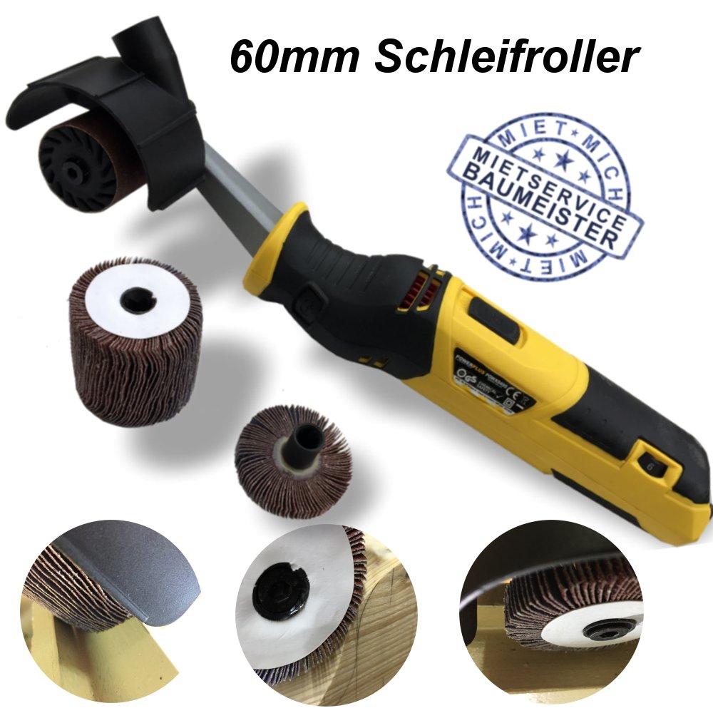 Schleifroller Rollenschleifer Schleifmaschine