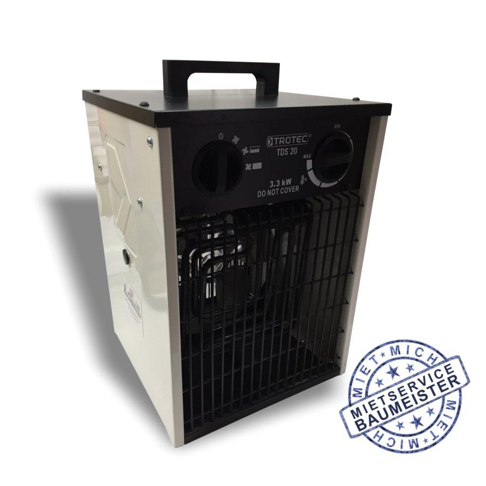 Bauheizer Baulüfter Elektroheizer 3,3KW
