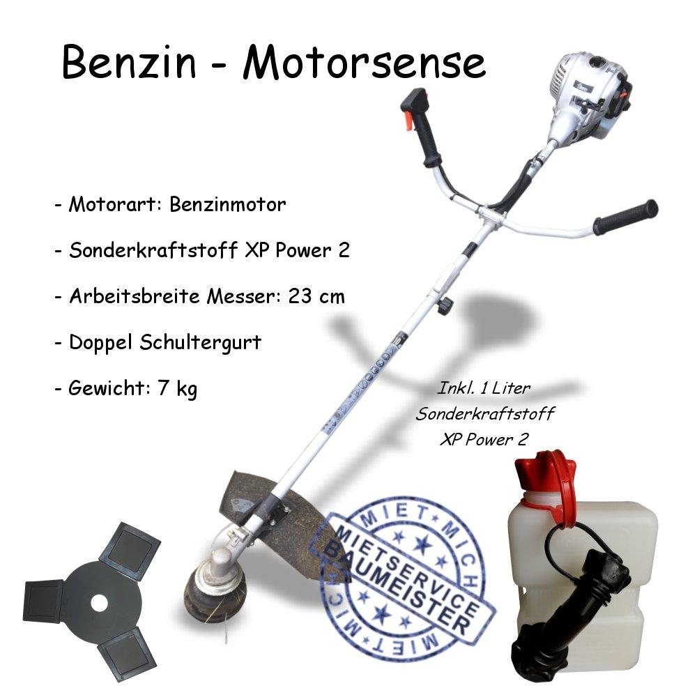 motorsense freischneider benzin