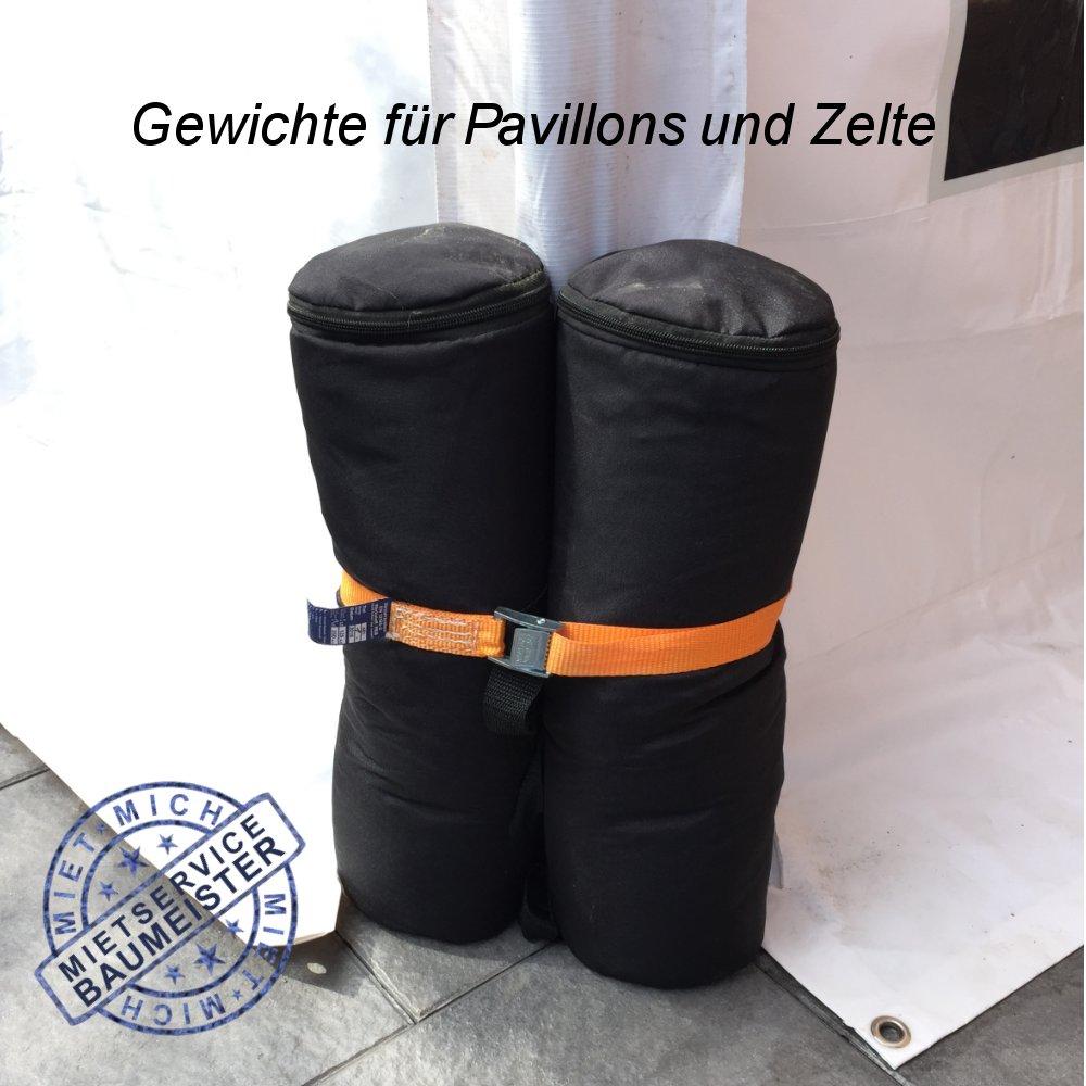 Pavillon Gewichte