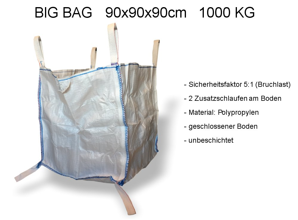 Big Bag 90x90x90cm 1000kg