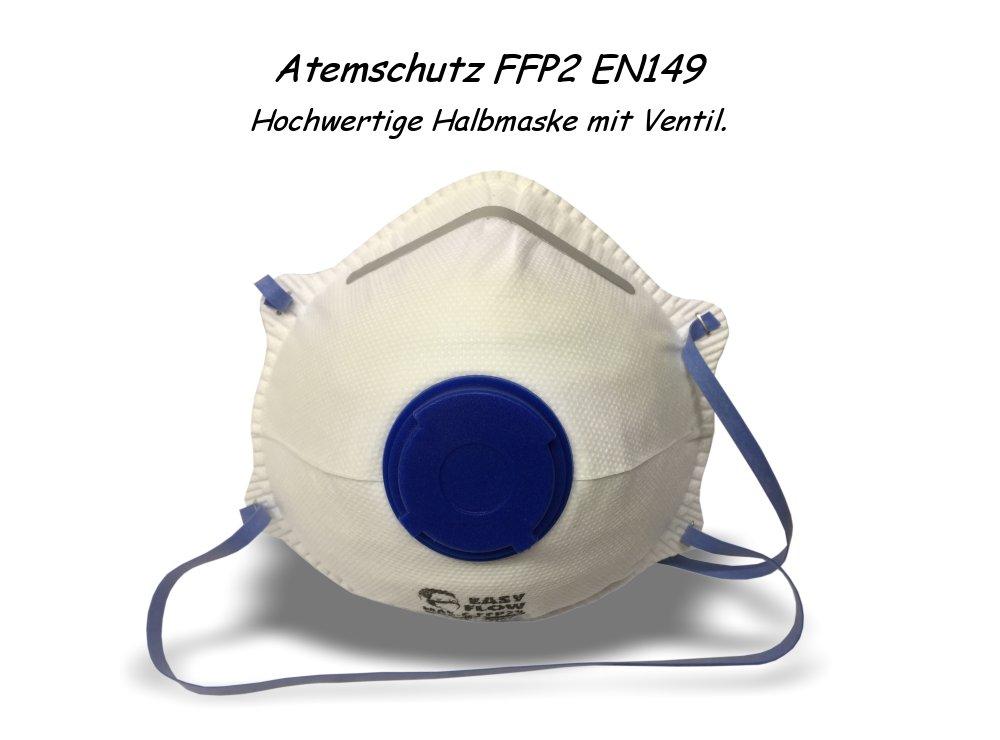 Mundschutz Maske Atemschutz FFP2 EN149