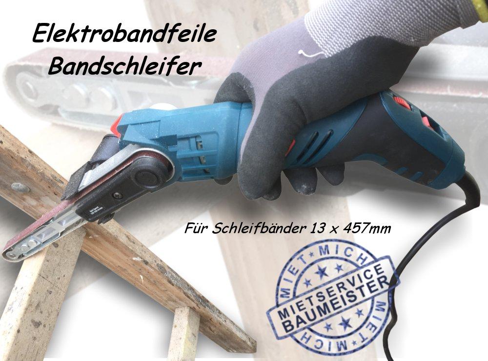 Bandfeile Bandschleifer Fingerfeile Schleifmaschine