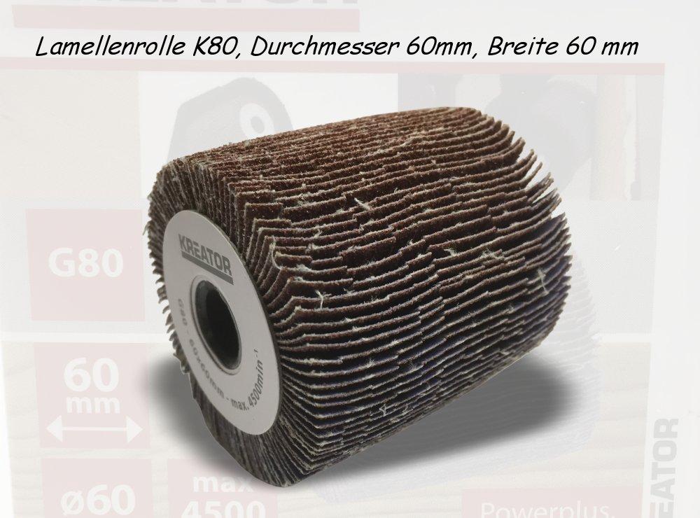 Lamellenrolle K80, Durchmesser 60mm, Breite 60 mm