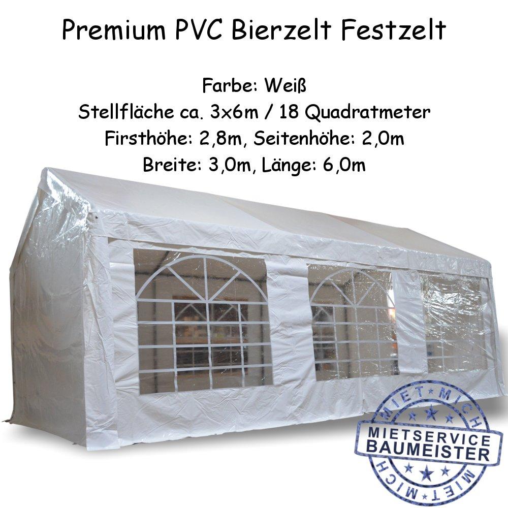 Zelt Festzelt Bierzelt PVC Partyzelt mieten