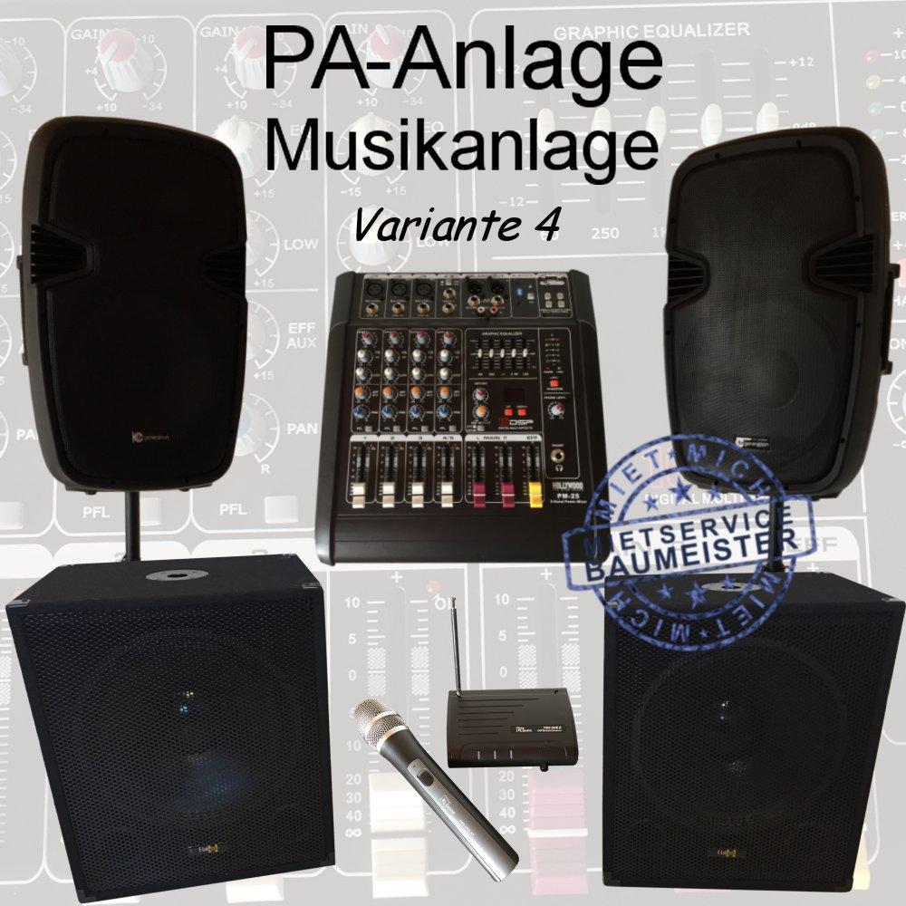 pa anlage musikanlage dj musik Variante 4