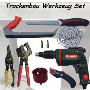 Trockenbau Werkzeug Set