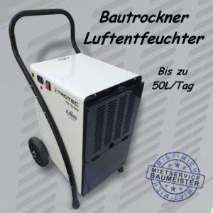Bautrockner Luftentfeuchter