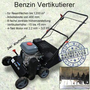Benzin Vertikutierer 400 mm