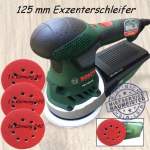 Exzenterschleifer Schleifmaschine 125 mm