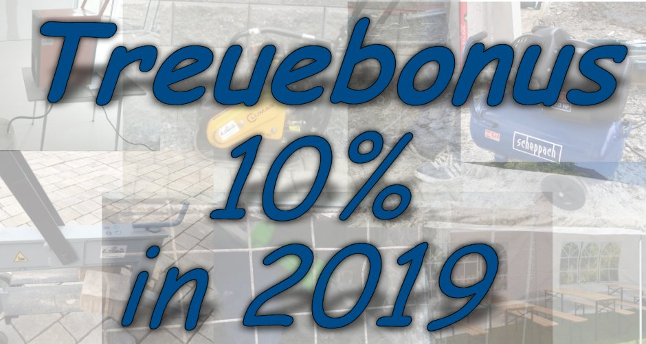 Treuebonus 2019